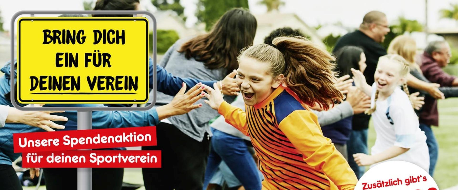 2021 - Header - Aktion - Spendenaktion für Vereine