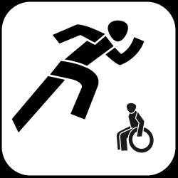 2021 Logo - Piktogramm - Behindertensport