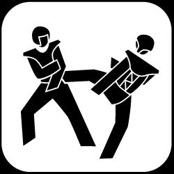 2021 - Logo - Piktogramm - Taekwondo