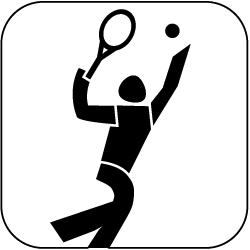 2021 - Logo - Piktogramm - Tennis