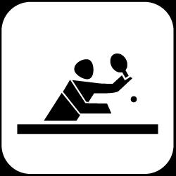 2021 - Logo - Piktogramm - Tischtennis