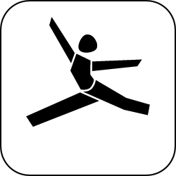 2021 - Logo - Piktogramm - Turnen