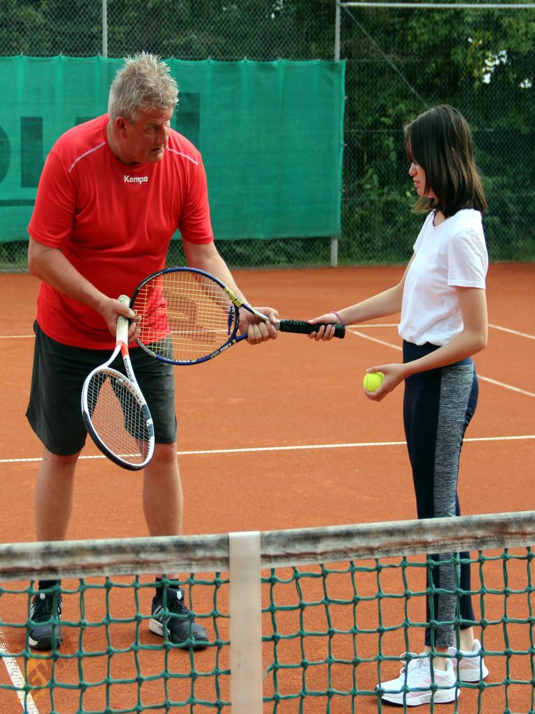 2021 - Tennis - Bericht - Schnupperkurs